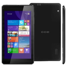 "Tablet CCE 16GB LCD 7"" Windows 8.1 2 MP TF74W"