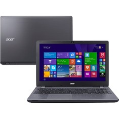 "Notebook Acer Aspire E Intel Core i7 5500U 5ª Geração 8GB de RAM HD 1 TB 15,6"" Windows 8.1 E5-571-700F"