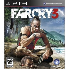 Jogo Far Cry 3 PlayStation 3 Ubisoft