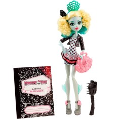 Boneca Monster High Lagoona Blue Intercâmbio Monstruoso Mattel