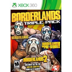 Jogo Borderlands Triple Pack Xbox 360 2K