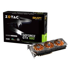 Placa de Video NVIDIA GeForce GTX 980 4 GB GDDR5 256 Bits Zotac ZT-90204-10P