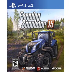 Jogo Farming Simulator 15 PS4 Focus