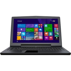 "Notebook Aorus Gamer Intel Core i7 4860HQ 4ª Geração 16GB de RAM HD 1 TB SSD 384 GB 17,3"" GeForce GTX 860M Windows 8.1 X7 v2"