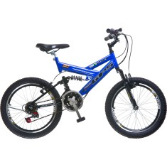 Bicicleta BMX Colli Bikes 18 Marchas Aro 20 Suspensão Full Suspension Freio V-Brake Full-S 310