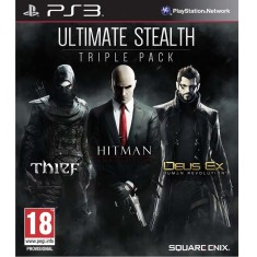 Jogo Ultimate Stealth: Trible Pack PlayStation 3 Square Enix