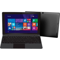 "Notebook Conversível CCE Intel Atom Z3735G 1GB de RAM SSD 16 GB 10,1"" Touchscreen Windows 8.1 F10-30"