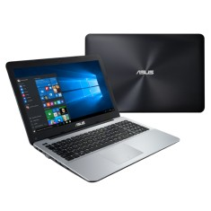 "Notebook Asus X Intel Core i7 5500U 5ª Geração 10GB de RAM SSD 480 GB 15,6"" GeForce 930M Windows 10 Home X555LF"