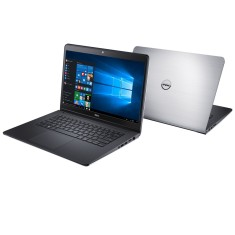 "Notebook Dell Inspiron 5000 Intel Core i7 5500U 5ª Geração 8GB de RAM HD 1 TB Híbrido SSD 8 GB 14"" Touchscreen Radeon HD R7 M265 Windows 10 Home i14-5448-C30"