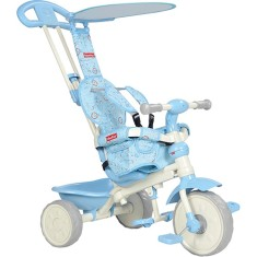 Triciclo com Pedal Bandeirante Velobaby Fisher Price