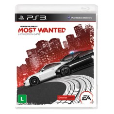 Jogo Need for Speed: Most Wanted PlayStation 3 EA