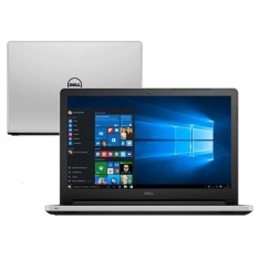 "Notebook Dell I15-5558-B40 Intel Core i5 5200U 15,6"" 8GB HD 1 TB GeForce 920M"