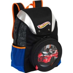 Mochila Escolar Sestini Hot Wheels 14Z G 63103