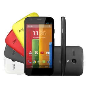 Smartphone Motorola Moto G Colors Edition XT1033 Câmera 5,0 MP Desbloqueado 2 Chips 16 GB Android 4.3 (Jelly Bean) Wi-Fi 3G
