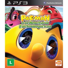 Jogo Pac-Man e as Aventuras Fantasmagóricas PlayStation 3 Bandai Namco