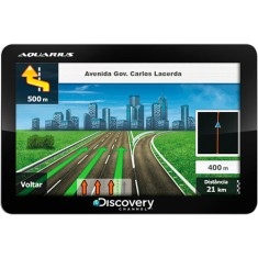 "GPS Automotivo Aquarius Discovery Channel MTC2132 5,0 "" TV Digital"