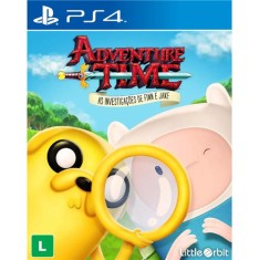 Jogo Adventure Time As Investigações de Finn e Jake PS4 Little Orbit
