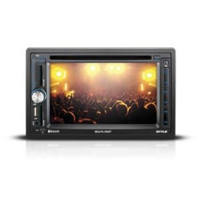 DVD Player Automotivo Multilaser P3237 Bluetooth Entrada para camêra de ré Viva Voz