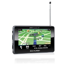 "GPS Automotivo Multilaser Tracker TV Gp034 4,3 "" TV Digital"