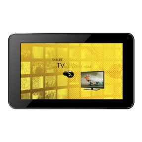 "Tablet DL Eletrônicos e-TV 8GB 7"" Android 4.2 (Jelly Bean Plus)"