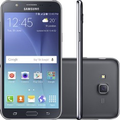 Smartphone Samsung Galaxy J7 J700MDS 16GB 13,0 MP 2 Chips Android 5.1 (Lollipop) 3G 4G Wi-Fi