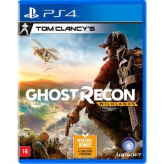 Jogo Tom Clancy's Ghost Recon Wildlands PS4 Ubisoft