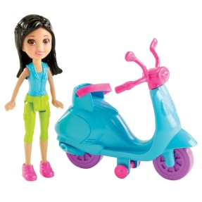 Boneca Polly Crissy Scooter Mattel