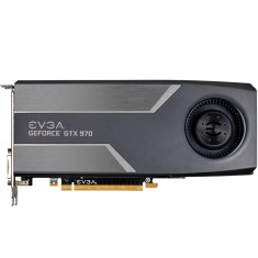 Placa de Video NVIDIA GeForce GTX 970 4 GB GDDR5 256 Bits EVGA 04G-P4-1970-KT