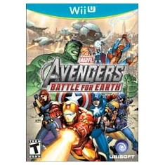 Jogo Marvel Avengers: Battle For Earth Wii U Ubisoft
