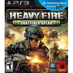 Jogo Heavy Fire Shattered Spear PlayStation 3 Mastiff