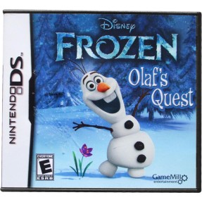 Jogo Disney Frozen Olaf's Quest GameMill Nintendo DS