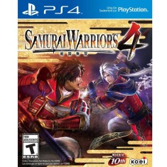 Jogo Samurai Warriors 4 PS4 Koei