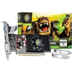 Placa de Video NVIDIA GeForce 8400 GS 1 GB DDR2 64 Bits Point Of View VGA-8400-C5-1024