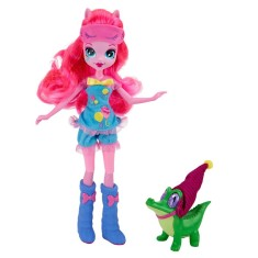 Boneca My Little Pony Esquestria Girls Pinkie Pie e Gummy Snap Hasbro