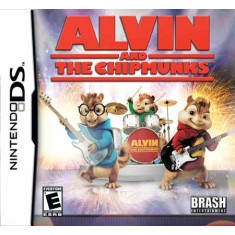 Jogo Alvin and The Chipmunks Brash Entertainment Nintendo DS