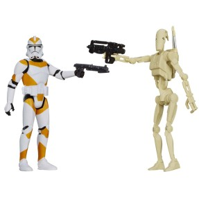 Boneco Clone Trooper Battle Droid Star Wars A5232/A5228 - Hasbro