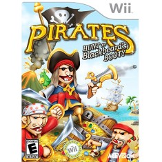 Jogo Pirates Hunt For Blackbeard's Wii Activision