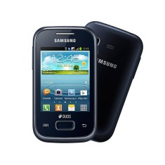 Smartphone Samsung Galaxy Pocket Plus Duos S5303 2,0 MP 2 Chips 4GB Android 4.0 (Ice Cream Sandwich) 3G Wi-Fi