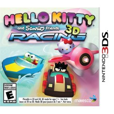 Jogo Hello Kitty and Sanrio Friends 3D Racing Majesco Entertainment Nintendo 3DS
