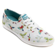 Tênis Keds Feminino Casual Champion Birds Of Paradise