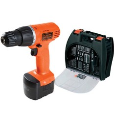 Kit Furadeira / Parafusadeira 3/8 Black&Decker - CD121K100