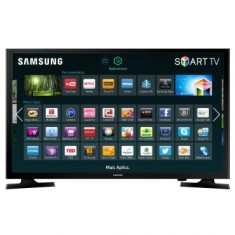 "Smart TV TV LED 48"" Samsung Full HD Netflix 48J5200 2 HDMI"
