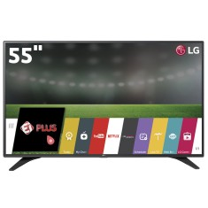 "Smart TV TV LED 55"" LG Full HD Netflix 55LH6000 3 HDMI"