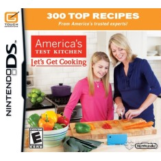 Jogo America´s Test Kitchen Let´s Get Cooking Nintendo DS