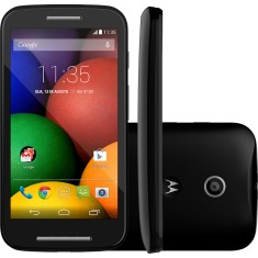 Smartphone Motorola Moto E E 4GB XT1022 5,0 MP 2 Chips Android 4.4 (Kit Kat) Wi-Fi 3G