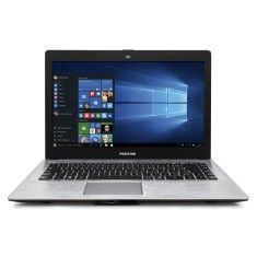 "Notebook Positivo Stilo Intel Celeron N2806 4GB de RAM HD 500 GB 14"" Windows 10 Home XR3555"