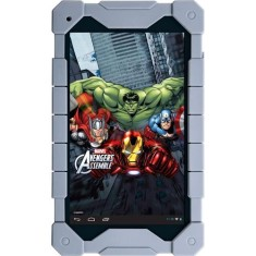 "Tablet Tectoy Avengers 8GB LCD 7"" Android 4.4 (Kit Kat) 2 MP TT-4100"