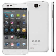 Smartphone CCE Motion Plus 4GB SK504 8,0 MP 2 Chips Android 4.1 (Jelly Bean) Wi-Fi 3G