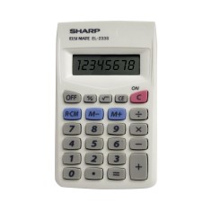 Calculadora De Bolso Sharp EL233SBK