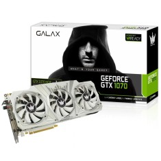 Placa de Video NVIDIA GeForce GTX 1070 8 GB GDDR5 256 Bits Galax 70NSH6DHL2SH